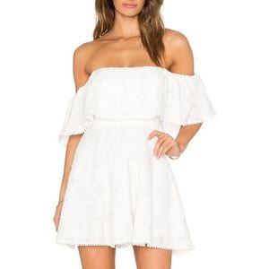 Amanda Uprichard Delilah Off The Shoulder Dress M